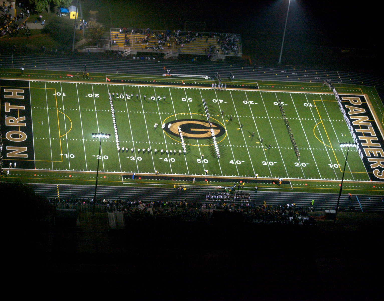 Glenbard North High School Athletic Turf - cropped